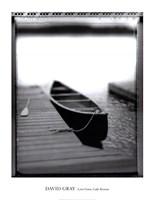 Lone Canoe, Lake Rosseau Fine Art Print