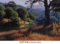 River View Fine Art Print