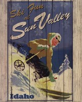 Ski Sun Valley Fine Art Print