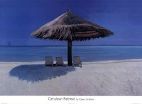Cerulean Retreat Fine Art Print