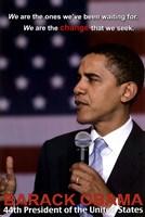Obama Change Wall Poster