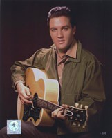 Elvis Presley Wearing Olive Jacket (#8) Fine Art Print