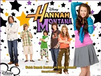 Hannah Montana, style D Fine Art Print