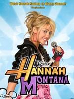 Hannah Montana, style E Fine Art Print