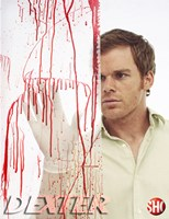 Dexter Splatter Analysis Framed Print