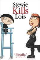 Family Guy Stewie Kills Lois. Finally. Framed Print