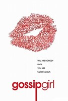 Gossip Girl - Red Lips Fine Art Print
