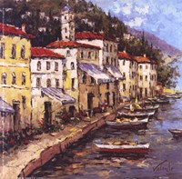 Port To Lucca I Fine Art Print