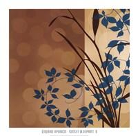 Sunset Blueprint II Fine Art Print