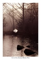 Silvered Morning Pond Fine Art Print