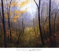 Woodland Mist Fine Art Print