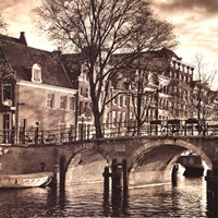 Autumn in Amsterdam II Fine Art Print