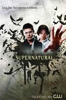 Supernatural (TV) Good. Evil. Everywhere In Between. Fine Art Print