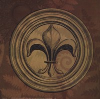 Fleur de Lys IV Fine Art Print