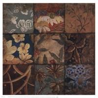 Floral Mosaic IV Fine Art Print