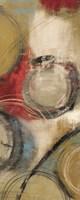 Elemental Circles II Framed Print