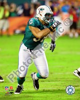 Jared Odrick 2010 Action Fine Art Print