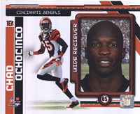Chad Ochocinco 2010 Studio Plus Fine Art Print