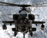 AH-64 Apache United States Army Fine Art Print