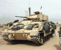 M2 Bradley Infantry Fighting Vehicle United States Army Fine Art Print