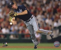 Chipper Jones 2010 Action Fine Art Print