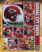 2010 Kansas City Chiefs Team Composite Fine Art Print