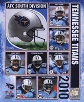 2010 Tennessee Titans Team Composite Fine Art Print
