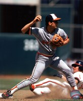 Cal Ripken Jr. 1985 Action Fine Art Print