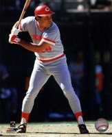 Tony Perez 1985 Action Fine Art Print