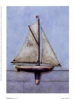 Model Boat Fine Art Print