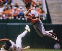 Cal Ripken Jr. 1989 Action Fine Art Print