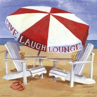 A Day at the Beach III Fine Art Print