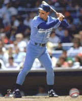 George Brett 1990 Action Fine Art Print