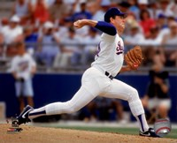 Nolan Ryan Action Fine Art Print