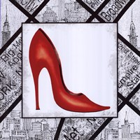 City Shoes I Framed Print