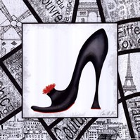 City Shoes II Framed Print