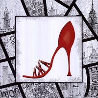 City Shoes IV Framed Print