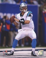 Jimmy Clausen 2010 Action Fine Art Print
