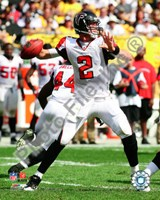 Matt Ryan 2010 Action Passing Fine Art Print