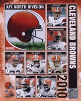 2010 Cleveland Browns Team Composite Fine Art Print