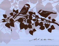 Chickadee Dream - mini Framed Print