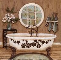Country Inn Bath I Fine Art Print