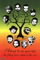 Roots Tree Wall Poster