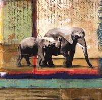 Serengeti Elephant Fine Art Print