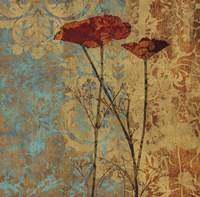 Poppy Pattern II Fine Art Print