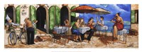 Monday Morning at Cafe da Vinci Fine Art Print