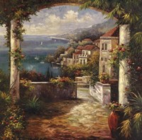 View From The Veranda Framed Print