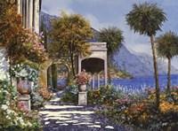 Passaegiata al Lago Fine Art Print