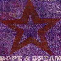 Believe Hope Dream Fine Art Print