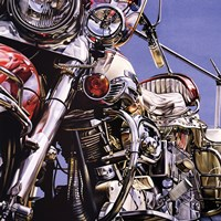 Motorcycle I Fine Art Print